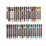 Posca PC-3M 1.5mm Fine tip Markers Mega Pack 2019